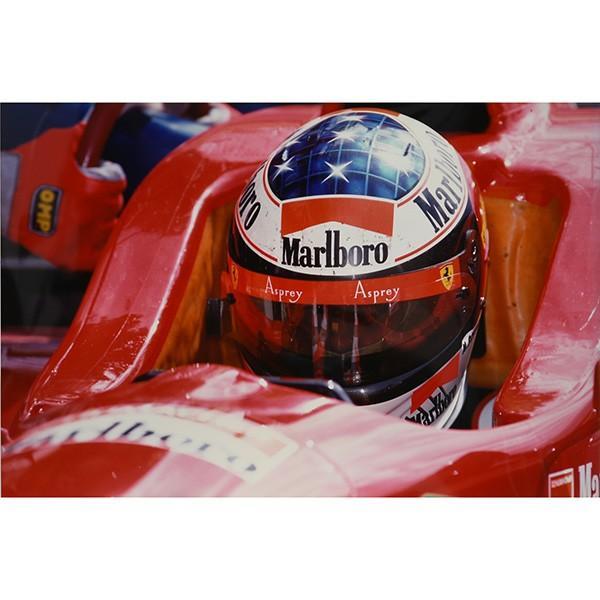 スクーデリア フェラーリ 1996オリジナルプレスフォト-サンマリノGPコックピット-|itazatsu