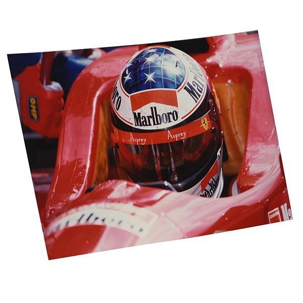 スクーデリア フェラーリ 1996オリジナルプレスフォト-サンマリノGPコックピット-|itazatsu|02