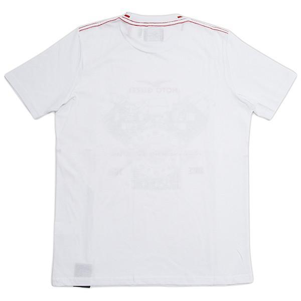 Moto GuzziオフィシャルTシャツ-CLASSIC-(ホワイト)|itazatsu|02