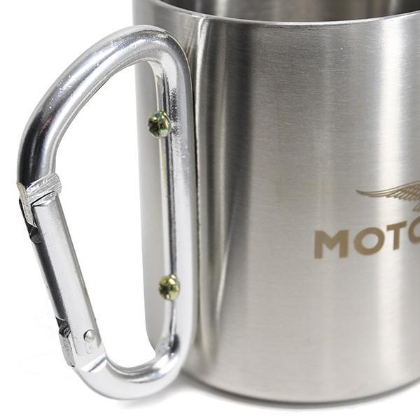 Moto Guzziステンレスマグカップ(アルミシルバー)|itazatsu|05