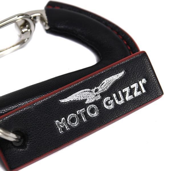 Moto Guzziオフィシャルステンレス&レザーキーリング|itazatsu|02