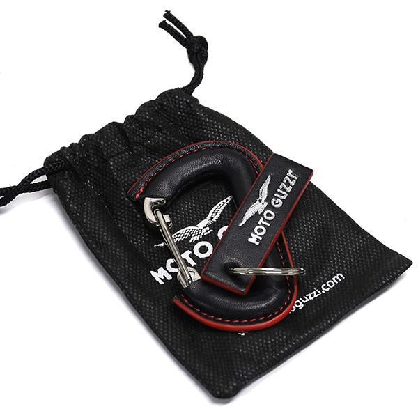 Moto Guzziオフィシャルステンレス&レザーキーリング|itazatsu|05