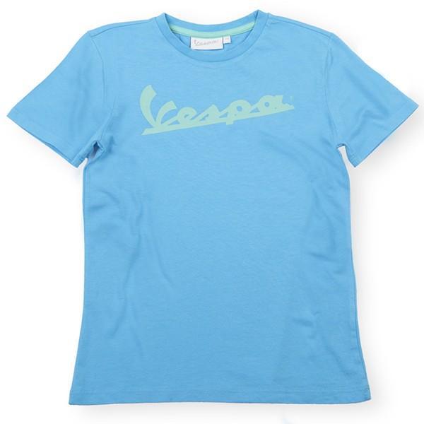 ベスパ オフィシャルキッズロゴTシャツ(ライトブルー) itazatsu