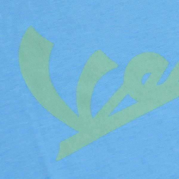 ベスパ オフィシャルキッズロゴTシャツ(ライトブルー) itazatsu 03