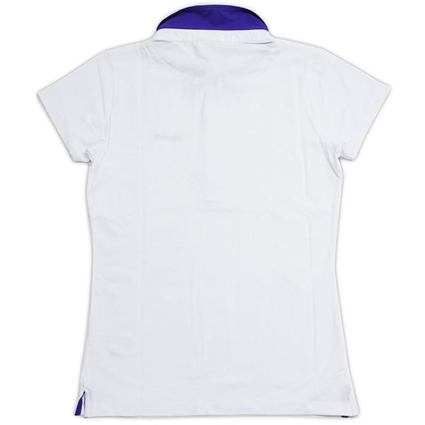 ベスパ オフィシャルレディスロゴポロシャツ(ホワイト)|itazatsu|02