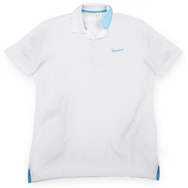 ベスパ オフィシャルロゴポロシャツ(ホワイト)|itazatsu