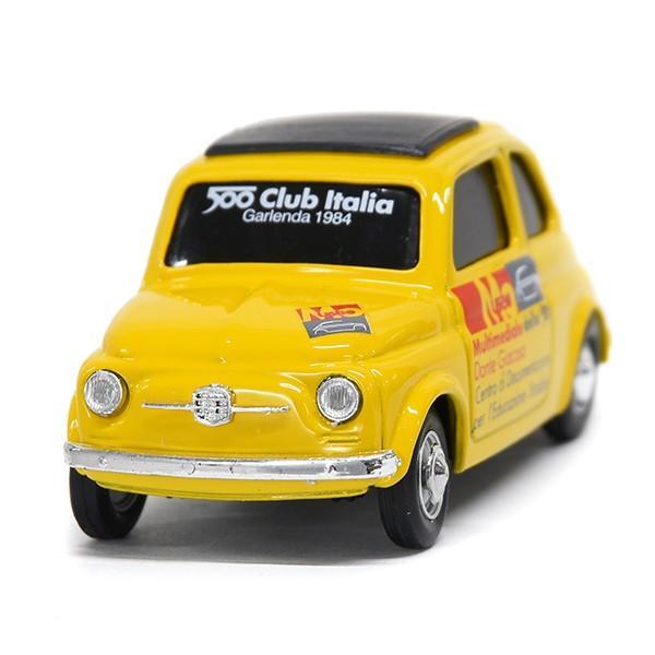 1/43 フィアット Nuova 500ミニチュアモデル(MUSEO 500ヴァージョン/イエロー) by FIAT 500 CLUB ITALIA|itazatsu