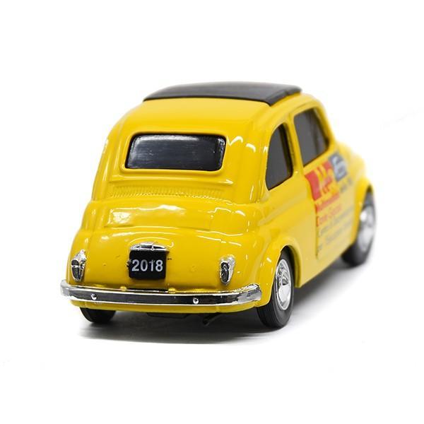1/43 フィアット Nuova 500ミニチュアモデル(MUSEO 500ヴァージョン/イエロー) by FIAT 500 CLUB ITALIA|itazatsu|02