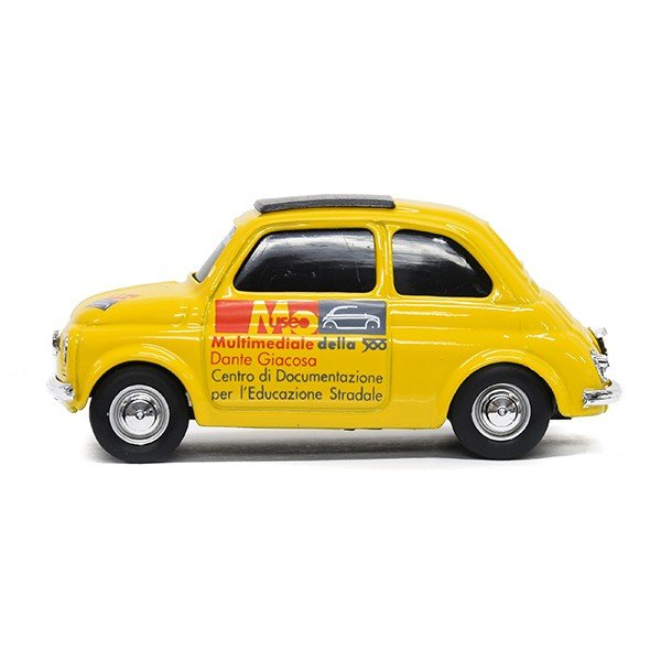 1/43 フィアット Nuova 500ミニチュアモデル(MUSEO 500ヴァージョン/イエロー) by FIAT 500 CLUB ITALIA|itazatsu|03
