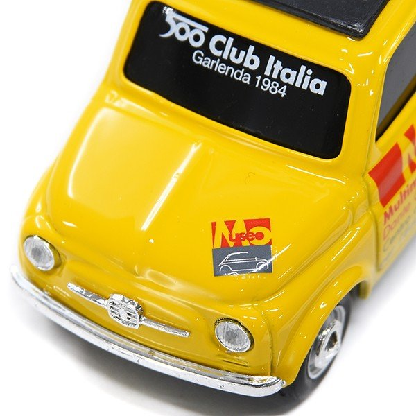1/43 フィアット Nuova 500ミニチュアモデル(MUSEO 500ヴァージョン/イエロー) by FIAT 500 CLUB ITALIA|itazatsu|04