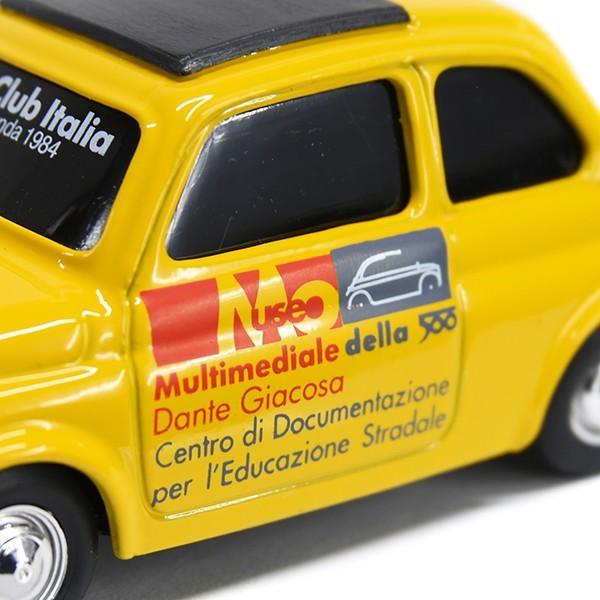 1/43 フィアット Nuova 500ミニチュアモデル(MUSEO 500ヴァージョン/イエロー) by FIAT 500 CLUB ITALIA|itazatsu|05