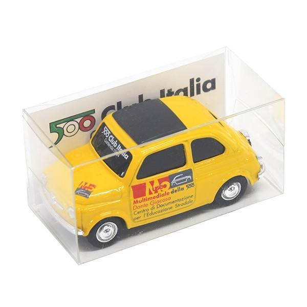 1/43 フィアット Nuova 500ミニチュアモデル(MUSEO 500ヴァージョン/イエロー) by FIAT 500 CLUB ITALIA|itazatsu|06