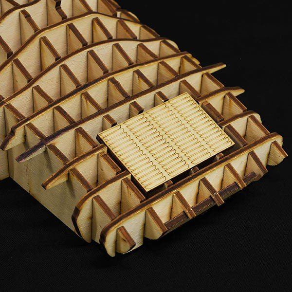 ランチア STRATOS 木製オブジェ|itazatsu|04
