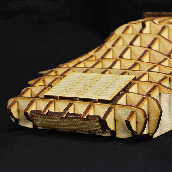 ランチア STRATOS 木製オブジェ|itazatsu|06