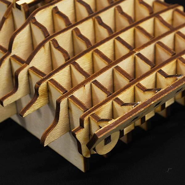 ランチア STRATOS 木製オブジェ|itazatsu|08