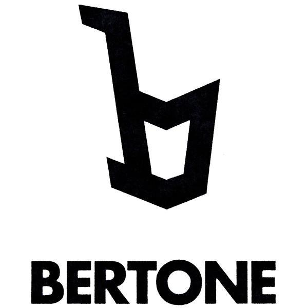 ランチア STRATOS用 BERTONEロゴステッカー(切り文字タイプ)|itazatsu