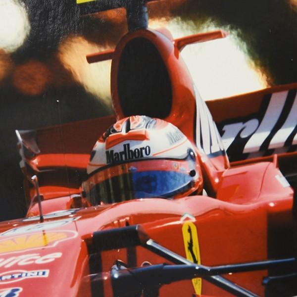 スクーデリア フェラーリ 2007オリジナルプレスフォト-Kimi Raikkonen直筆サイン-|itazatsu|04