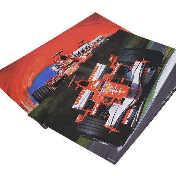 スクーデリア フェラーリプレスフォトポスターセット(F2004/248F1)|itazatsu|02