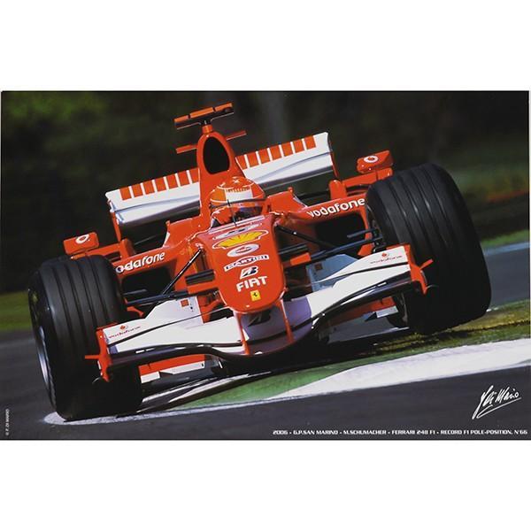 スクーデリア フェラーリプレスフォトポスターセット(F2004/248F1)|itazatsu|04
