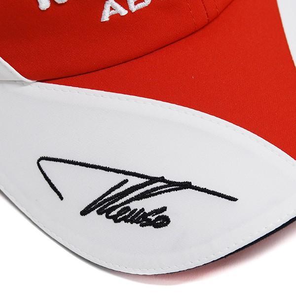 スクーデリア フェラーリ 2010ドライバー支給用キャップ(F.Alonso用)|itazatsu|05