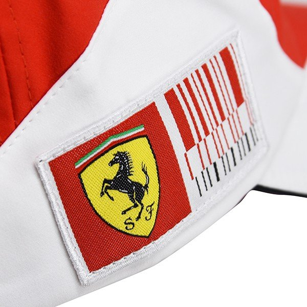 スクーデリア フェラーリ 2010ドライバー支給用キャップ(F.Alonso用)|itazatsu|07