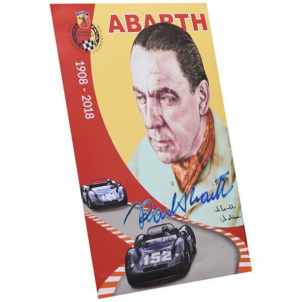 アバルト Carlo ABARTH生誕110周年メモリアルポスター(Annalisa ABARTH直筆サイン入り)|itazatsu|02