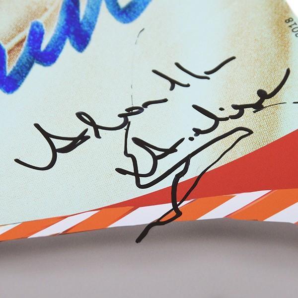 アバルト Carlo ABARTH生誕110周年メモリアルポスター(Annalisa ABARTH直筆サイン入り)|itazatsu|07