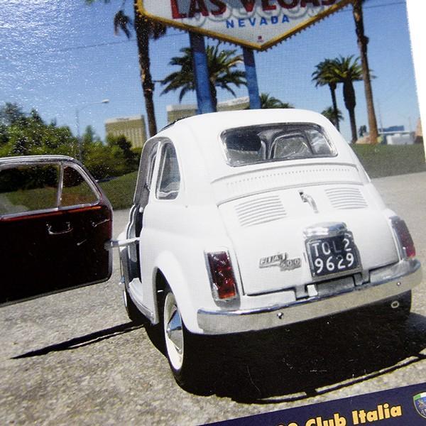 フィアット FIAT 500 CLUB ITALIA ポストカード-VEGAS- itazatsu 04