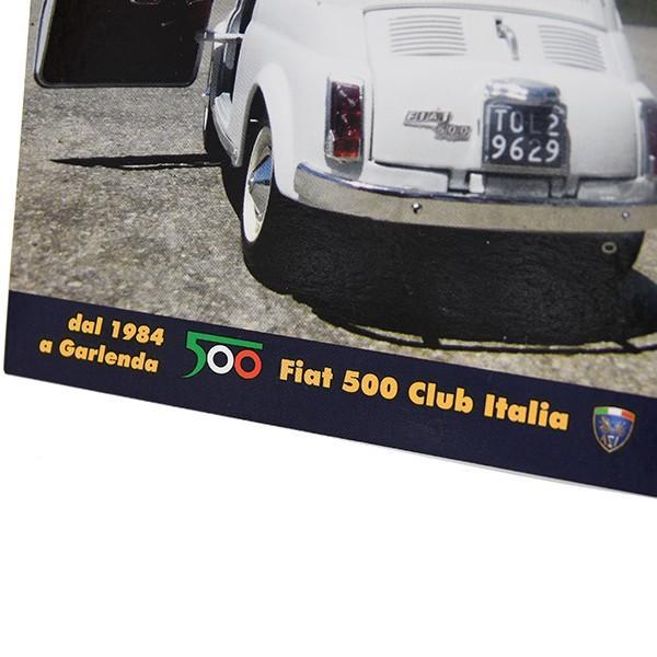 フィアット FIAT 500 CLUB ITALIA ポストカード-VEGAS- itazatsu 05