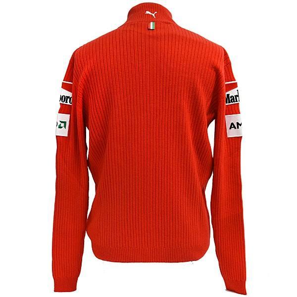 スクーデリア フェラーリ マールボロ 2008オフィシャルカシミアジップアップセーター(フルロゴ)|itazatsu|02