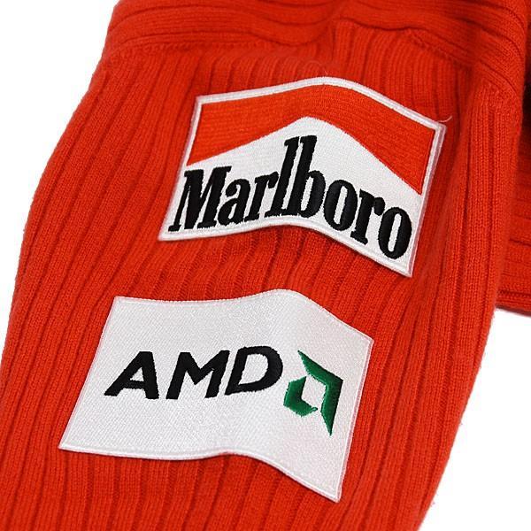 スクーデリア フェラーリ マールボロ 2008オフィシャルカシミアジップアップセーター(フルロゴ)|itazatsu|10