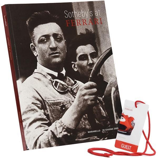 フェラーリ Ferrari-Sotheby'sオフィシャルオークション2005カタログ+パスセット|itazatsu