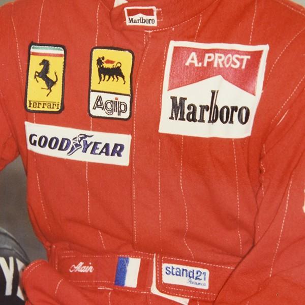 スクーデリア フェラーリ 1990オフィシャルプレスフォト(A.プロスト)|itazatsu|04