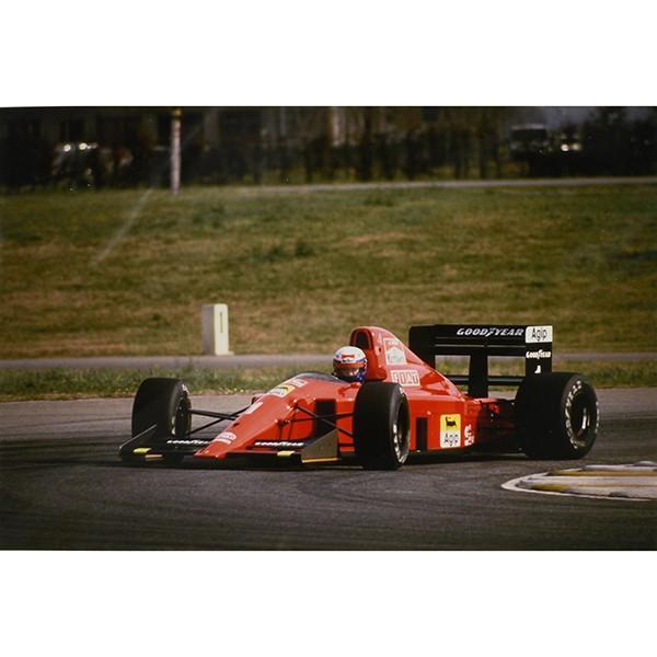 スクーデリア フェラーリ 1990オフィシャルプレスフォト(A.プロスト&641)|itazatsu