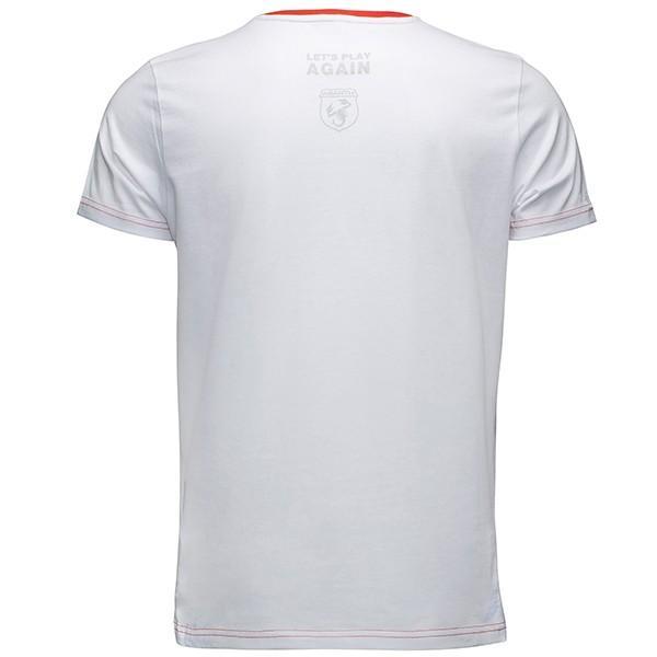 アバルト純正 Tシャツ-レッドストライプ-|itazatsu|02