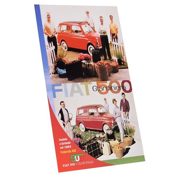 フィアット FIAT 500 CLUB ITALIA ポストカード(4 Giardiniera)|itazatsu|02