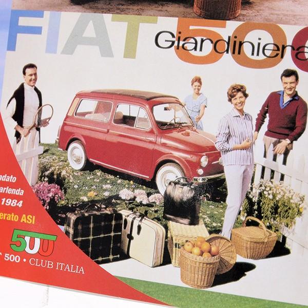 フィアット FIAT 500 CLUB ITALIA ポストカード(4 Giardiniera)|itazatsu|04