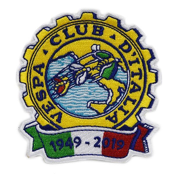 ベスパ Vespa Club ITALIA 70周年ワッペン|itazatsu