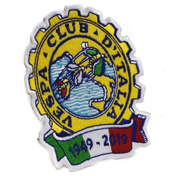 ベスパ Vespa Club ITALIA 70周年ワッペン|itazatsu|02