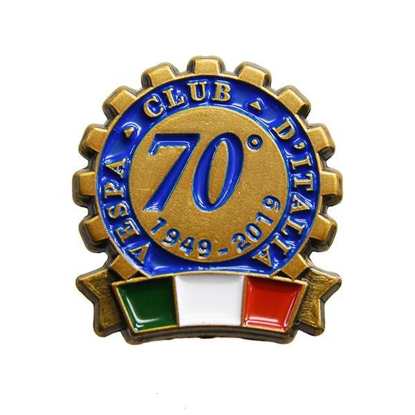 ベスパ Vespa Club ITALIA 70周年ピンバッジ|itazatsu