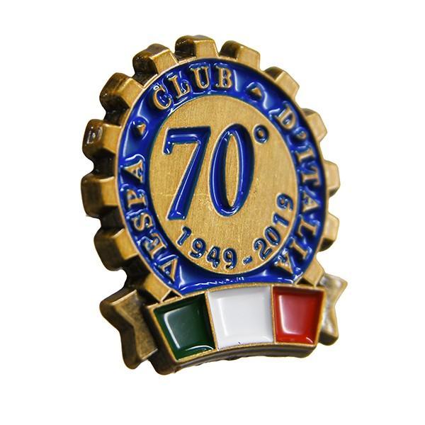 ベスパ Vespa Club ITALIA 70周年ピンバッジ|itazatsu|02