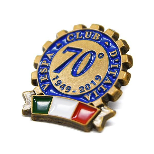 ベスパ Vespa Club ITALIA 70周年ピンバッジ|itazatsu|03