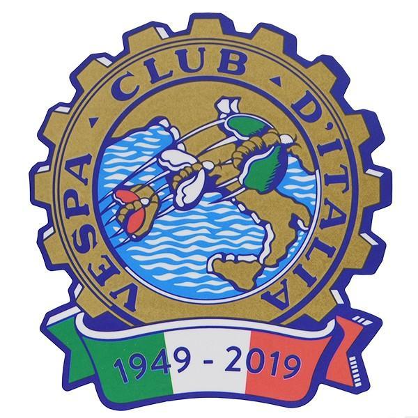 ベスパ Vespa Club ITALIA 70周年ステッカー|itazatsu