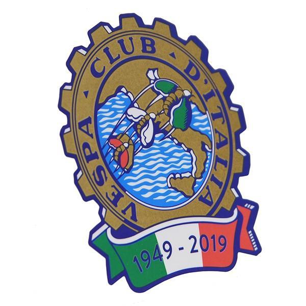 ベスパ Vespa Club ITALIA 70周年ステッカー|itazatsu|02