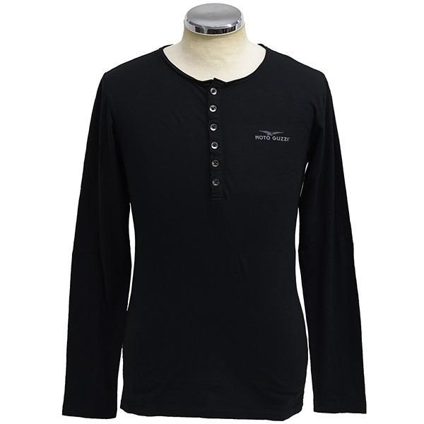 Moto GuzziオフィシャルTシャツ-SERAFINO-(長袖)|itazatsu