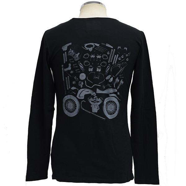 Moto GuzziオフィシャルTシャツ-SERAFINO-(長袖)|itazatsu|02