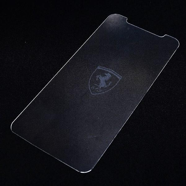 フェラーリ純正  iPhoneX/XS用液晶保護フィルター itazatsu