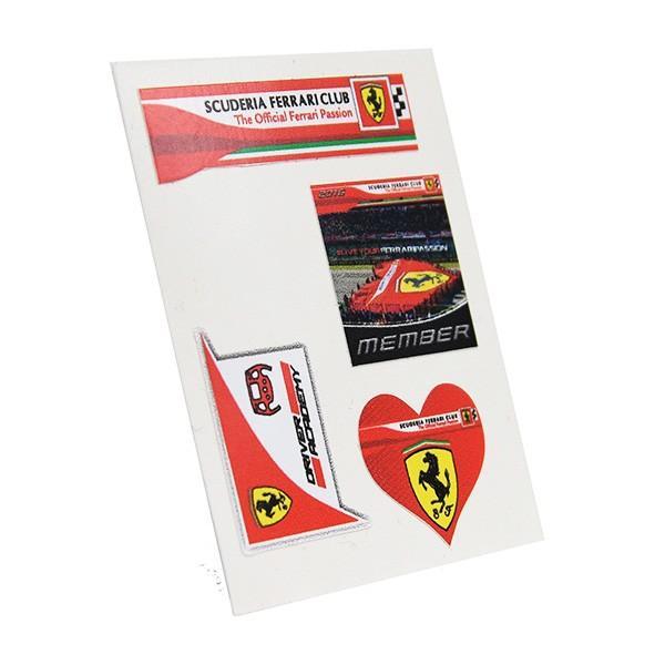 フェラーリ Scuderia Ferrari Club スモールステッカーセット|itazatsu|02