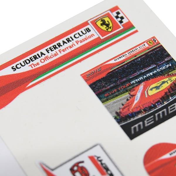 フェラーリ Scuderia Ferrari Club スモールステッカーセット|itazatsu|03