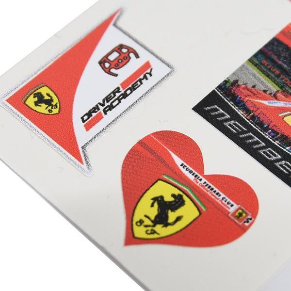 フェラーリ Scuderia Ferrari Club スモールステッカーセット|itazatsu|04